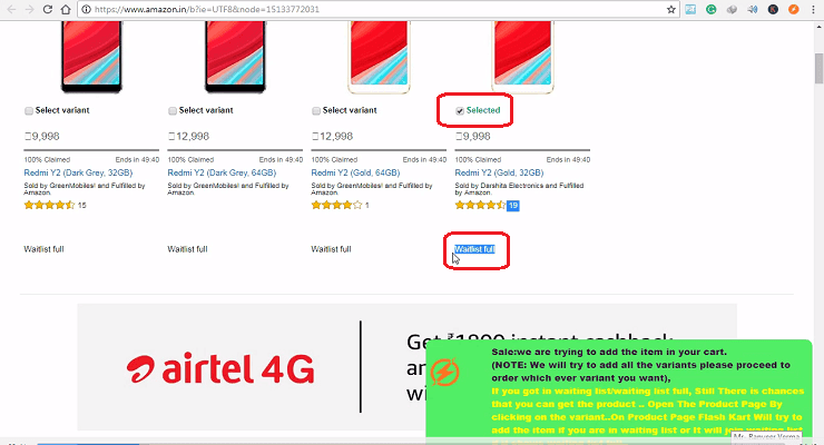 Redim Y2 Mobile क्या है ? Or Redmi Y2 कैसे बुक करे ? Step By Step Hindi Me
