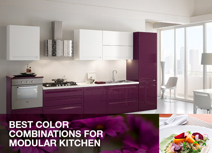 Best color combinations for modular kitchen spar arreda india Modular kitchen design colors