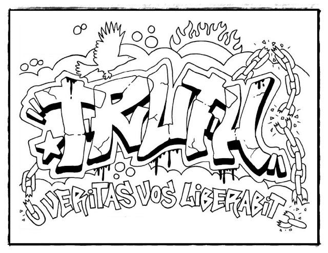 Die Besten und Kostenlos Graffiti Ausmalbilder zum