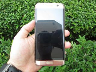 Samsung S7 edge Seken Mulus Fullset Gold 32GB