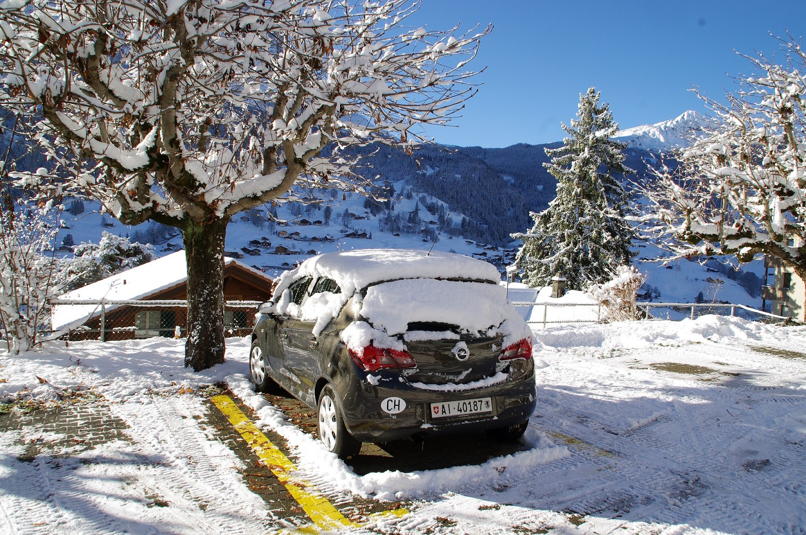 Car Hire Switerland Winter