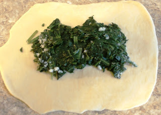 recipes spinach pizza