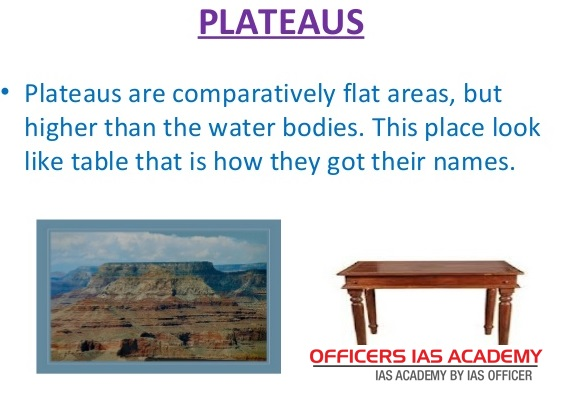 IAS Preparation- simplified like never before!: PLATEAUS
