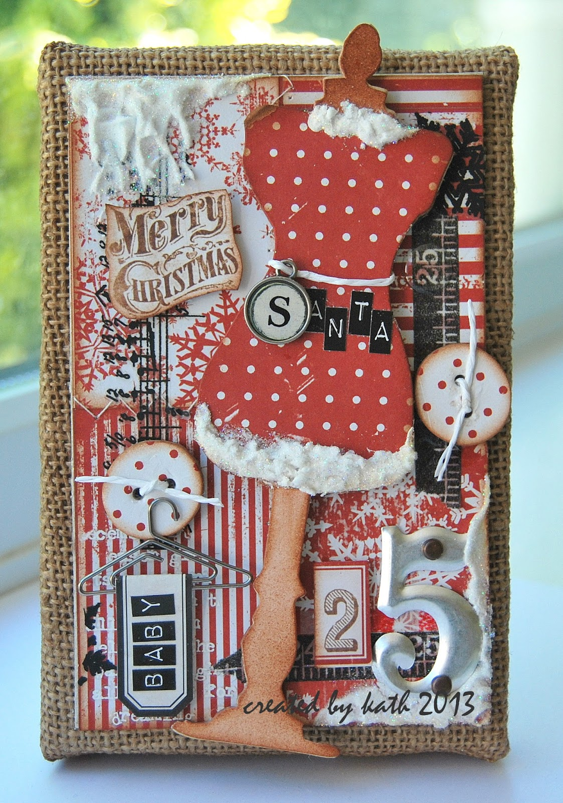 Kaths Blogdiary Of The Everyday Life Of A Crafter Santa Baby