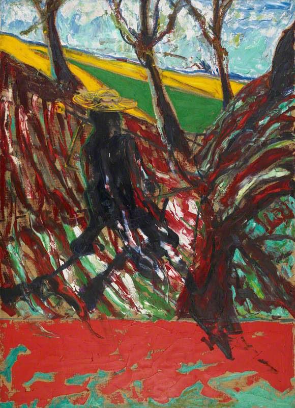 フランシス・ベーコンのヴァン・ゴッホの肖像のための習作Ⅵ