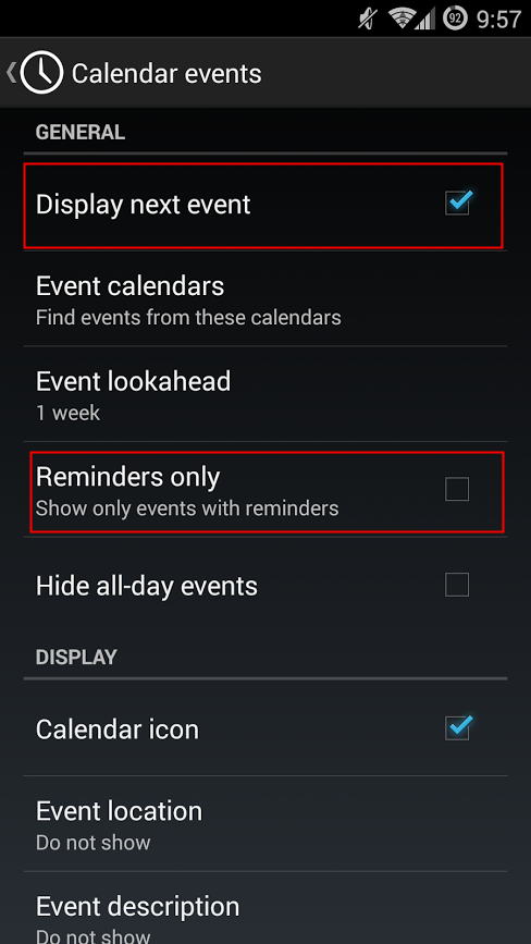 how to show reminders on lock screen