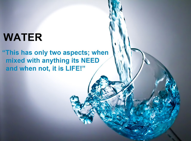 Beautiful water quote