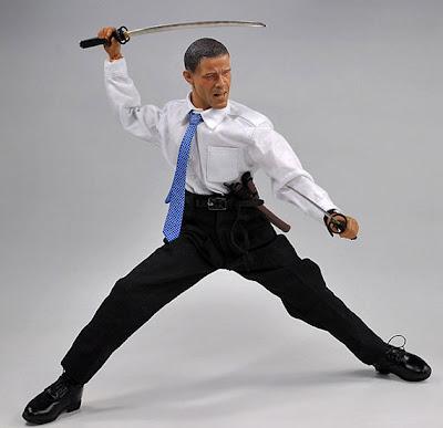 Barak Obama  figura de accion