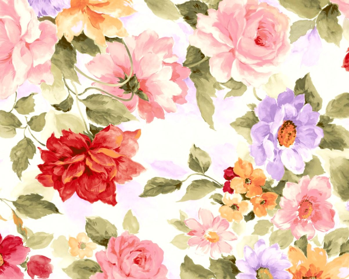 Floral Wallpaper Pattern Tumblr Wallpapers Collection