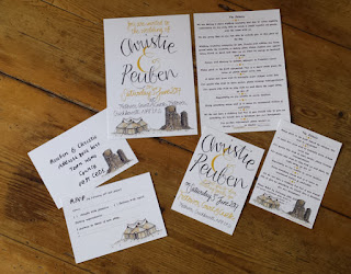 Wedding Stationery by Alice Draws The Line