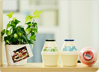 敏麗的日本代行: 韓國的 香蕉牛奶