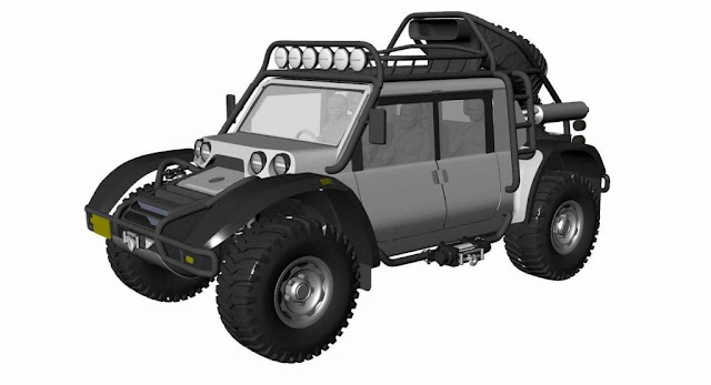 SCG Developing Modern Baja Boot To Set New Altitude Record