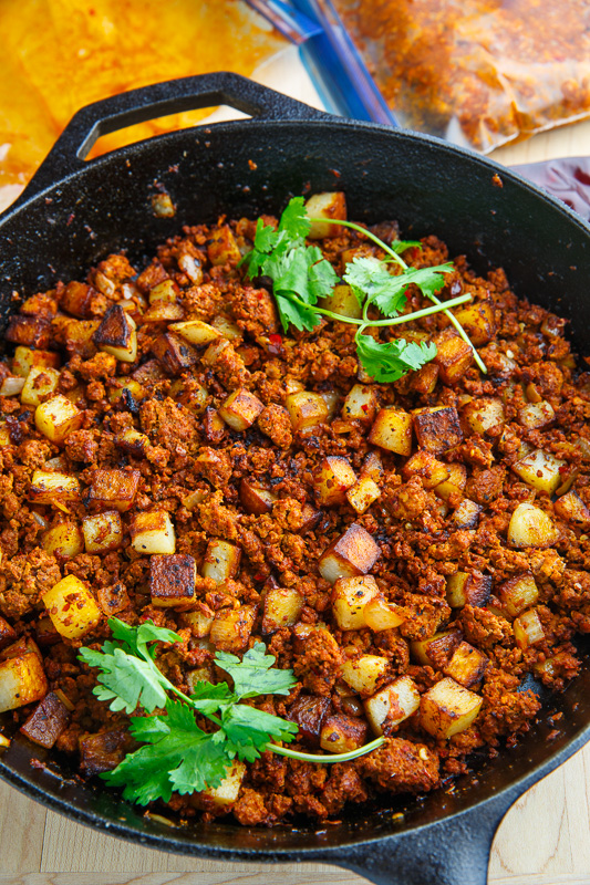 Crispy Fried Chorizo and Potatoes