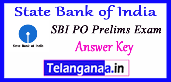 SBI State Bank of India PO Prelims Answer Key 2018 Expected Cut off