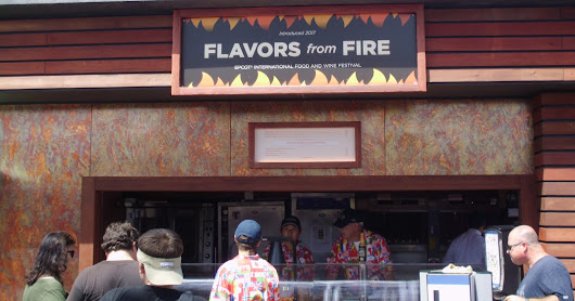Food and Wine Festival: Flavors from Fire Booth