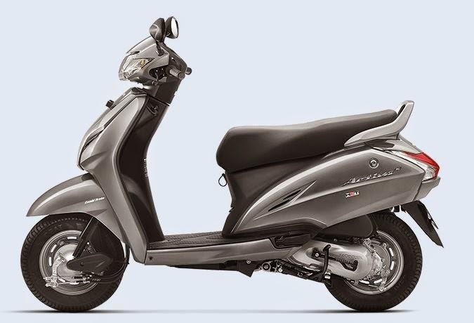 Honda Activa 3G grey color