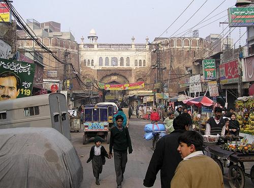 Historical Places: Mori Gate, Lahore, Pakistan