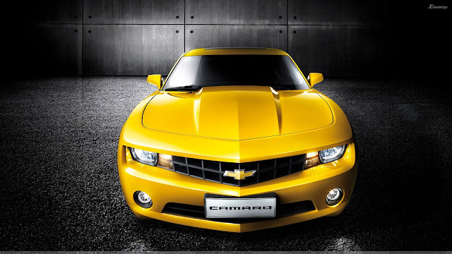 Chevrolet Camaro in Yellow