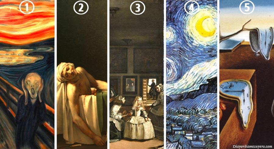 Test: Descubre qué revela tu pintura favorita sobre tu personalidad