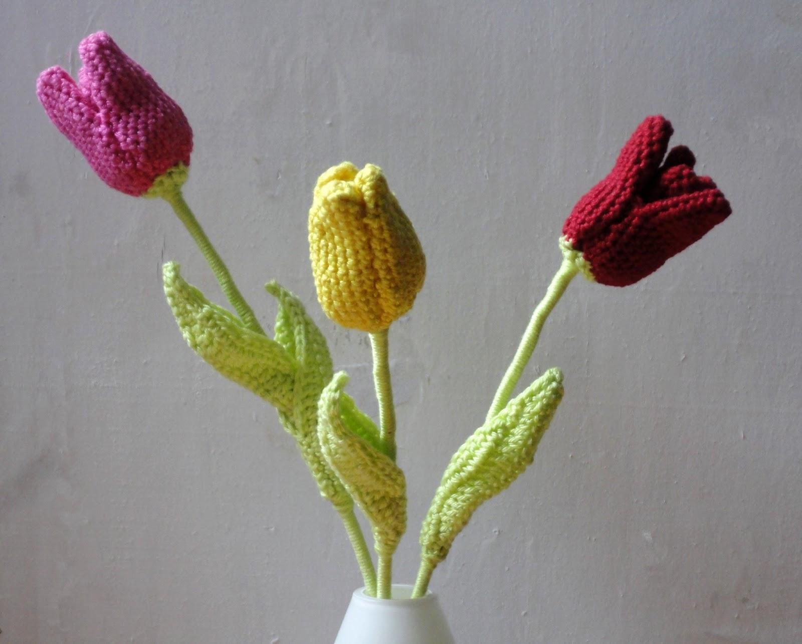 De Haakbaak Tulpen Haken