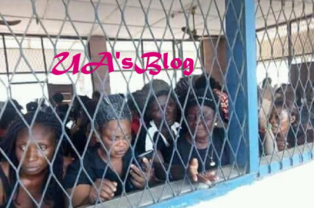 Biafra: Intersociety releases photo, names of women arrested in Imo