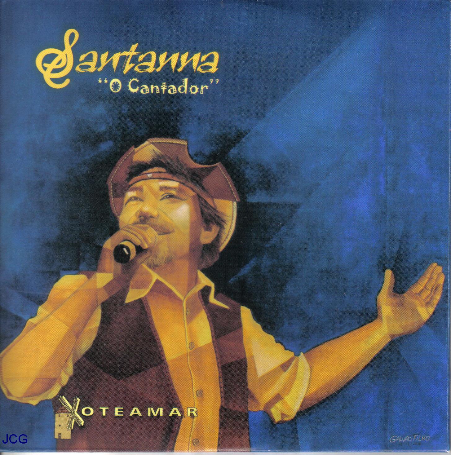 cd de santanna o cantador 2012