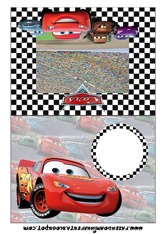 cars  free printable party invitations