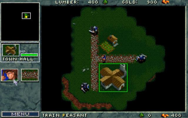 Warcraft 1 Town Hall Screenshot
