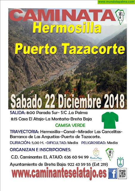 """EL ATAJO: """"Hermosilla (Los Llanos) - Puerto de Tazacorte"""""""