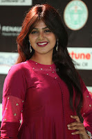 Monal Gajjar in Maroon Gown Stunning Cute Beauty at IIFA Utsavam Awards 2017 046.JPG