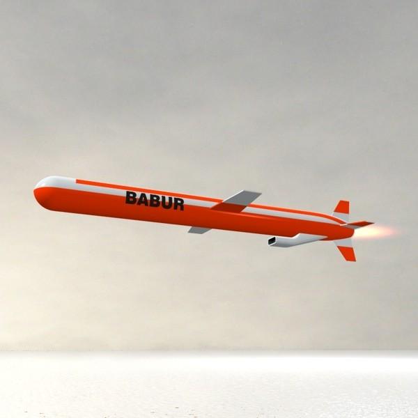 Resultado de imagen de misil crucero Babur
