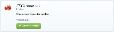 الاضافه الخاصه بتحويل فايرفوكس الى جوجل كروم : العبقرى