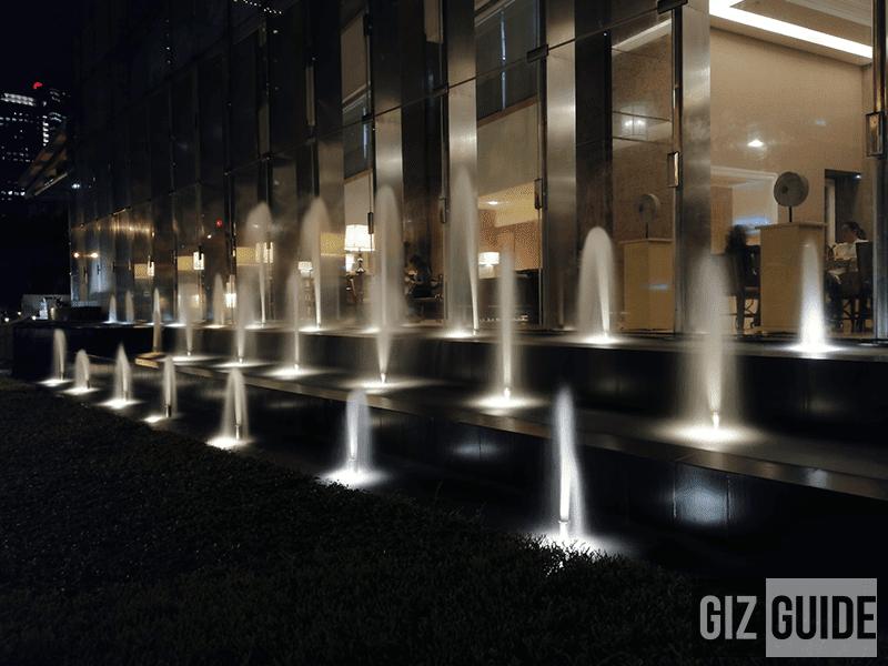 Silky water mode in lowlight (30 secs)