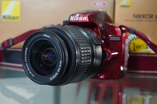 Kamera Nikon D3200 Fullset