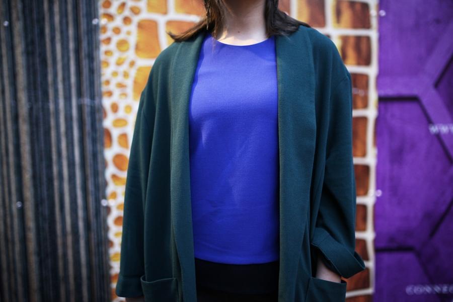 shirt color blocking fashion modeblog