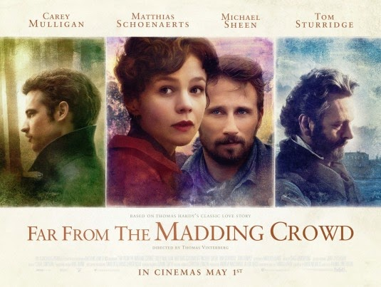 Far From The Madding Crowd 2015 movie poster