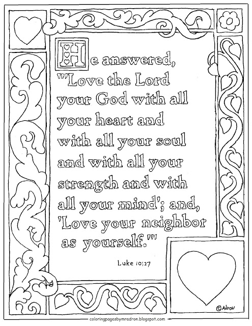 Coloring Pages For Kids By Mr Adron Luke 1027 Printable