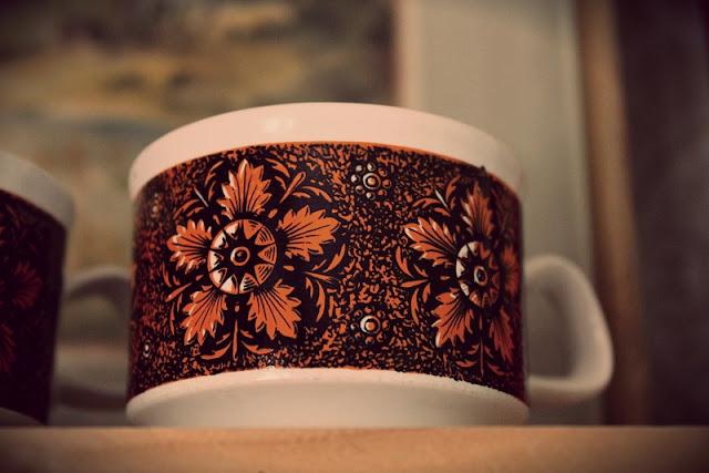retro, kahvikuppi