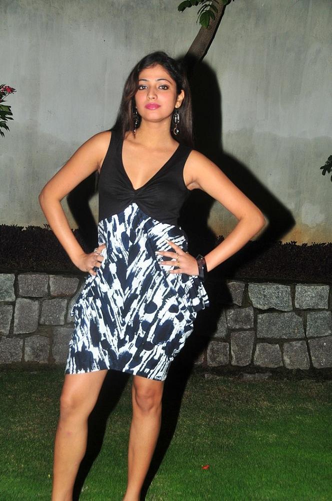 suave and bonny Hari priya latest stills in hot dress in night outdoor