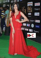 Adah Sharma in Red Deep Neck Spicy Gown ~  Exclusive 02.jpg