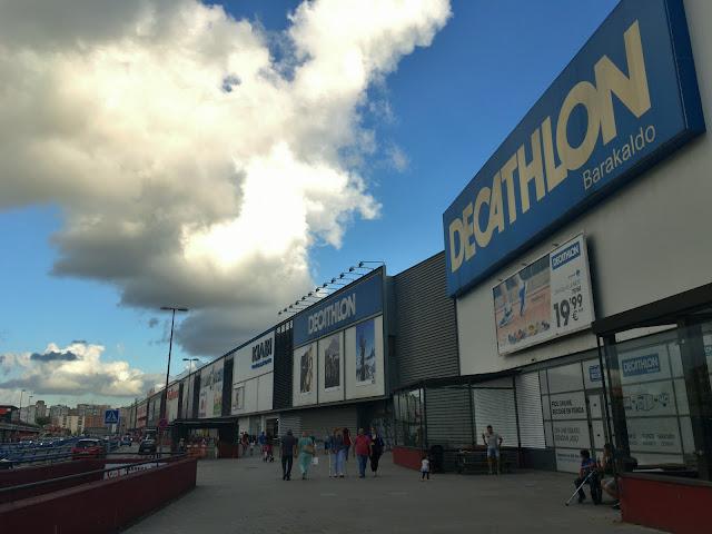 Tienda de Decathlon en Megapark
