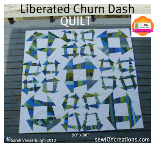 queen size liberated piecing quilt