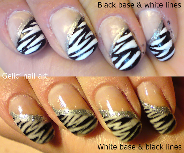 gelic' nail art comparison