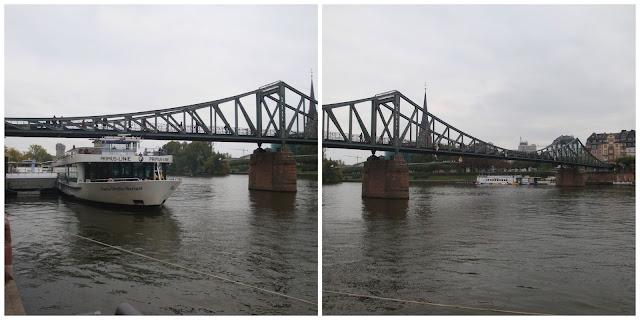 Alemanha: as pontes mais fantásticas! Eisener Steg, Frankfurt