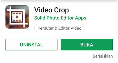 Cara Mudah Crop / Memotong Ukuran Tampilan Video di Android