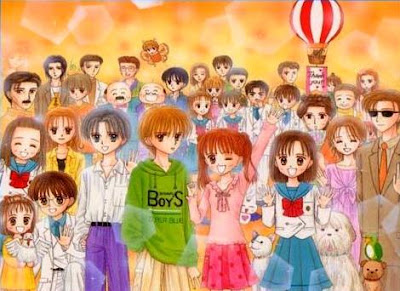 Dibujo de Kodocha a colores para niños