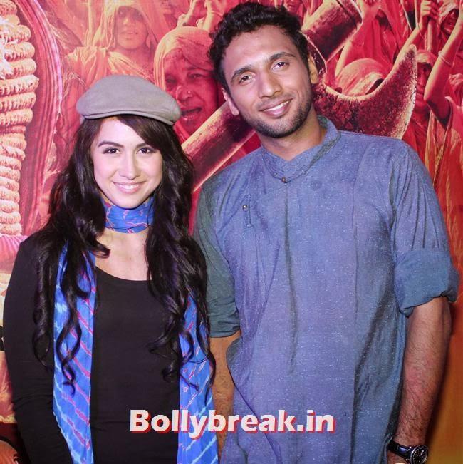 Punit Pathak and Lauren Gottlieb, Gulaab Gang Movie Premiere Pics