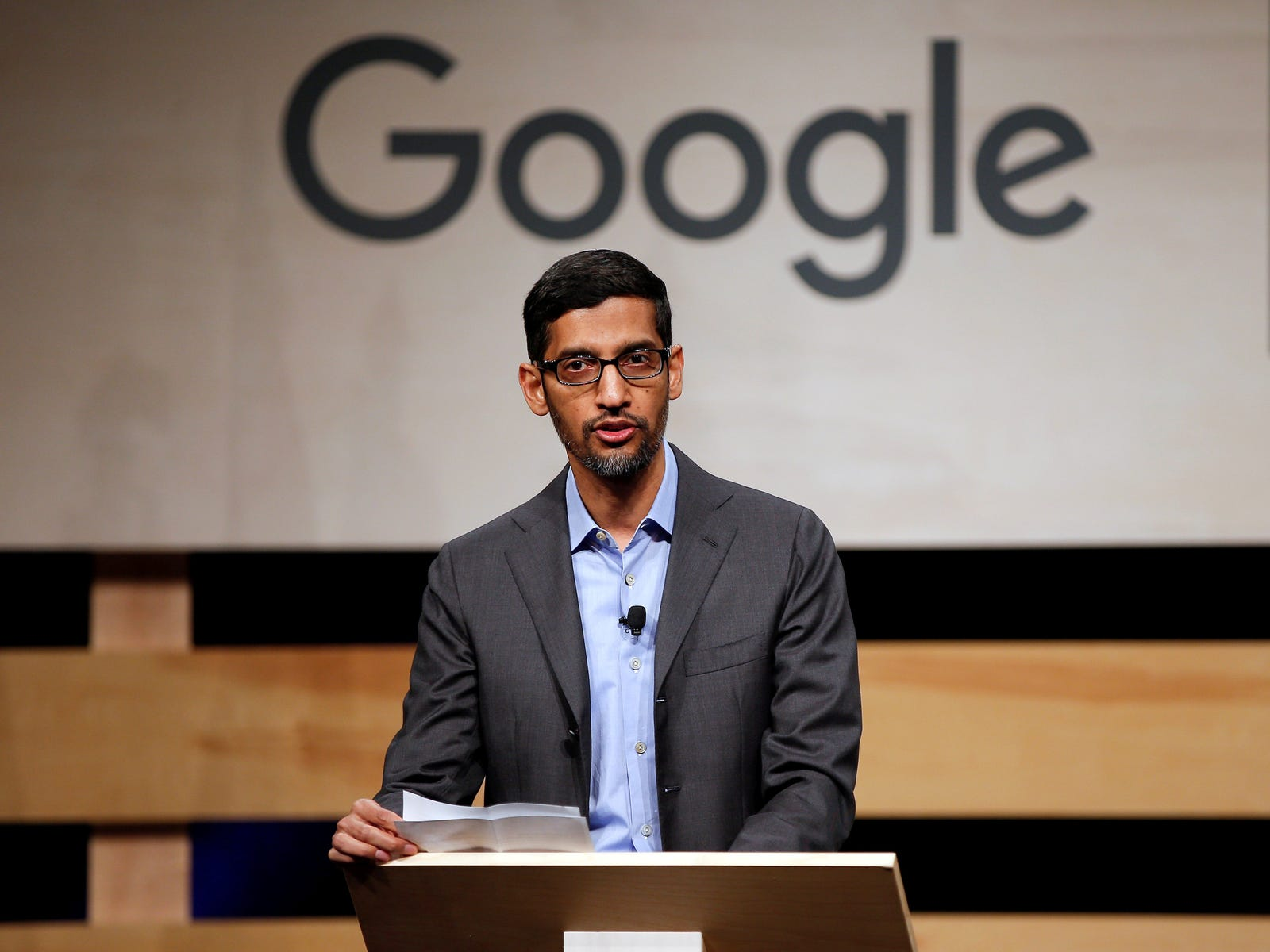 Sundar Pichai, Alphabet's new CEO