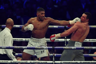 Anthony Joshua vs wladimir Klitschko rematch