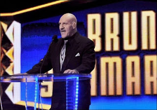 Bruno Sammartino at the WWE Hall of Fame Ceremony in 2013